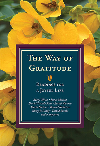 Book Cover: The Way of Gratitude - Readings for a Joyful Life
