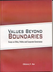Book Cover: Values Beyond Boundaries